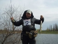 Фотоотчет с 1 этапа КЗО по ловле рыбы спиннингом с берега