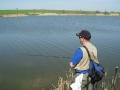 Фотоотчет с ЧЗО по ловле рыбы спиннингом с берега