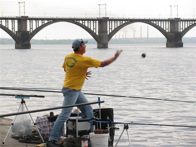 как ловить рыбу в днепропетровске
