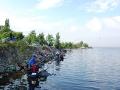 Фотоотчет с соревнований по ловле рыбы поплавочной удочкой «Запорожская уклейка»