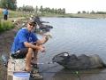 Фотоотчет с отборочных соревнований по поплавочной ловле «Рыболовные Игры Флагман» в Запорожье