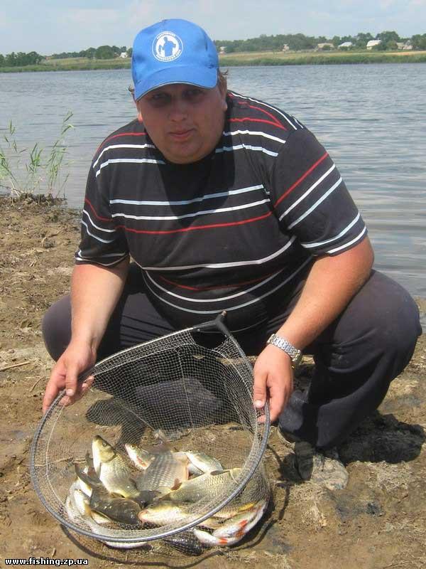 Рыболовная база в Украинском Удача рыбака