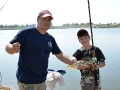 Фотоотчет с детского фестиваля Рыболовные каникулы