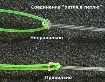 поводки из плетенки или лески на карася