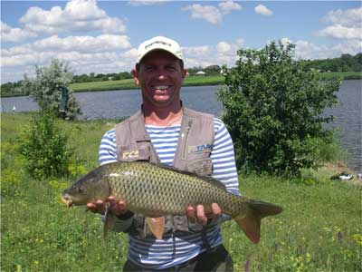 где ловят рыбу в запорожской области