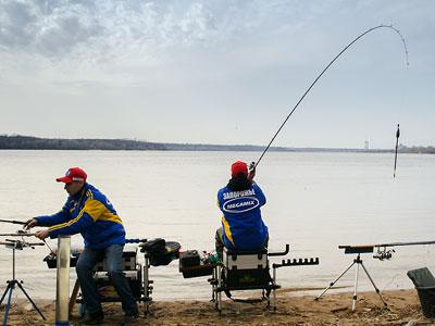 Мастер-класс по ловле рыбы матчевой удочкой