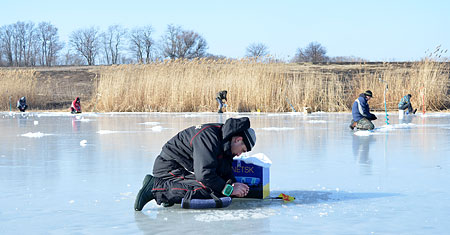 ловля на арендованных водоемах украина
